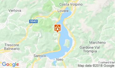 Mapa Sarnico Apartamento 116784