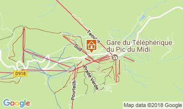 Mapa La Mongie Estudio 4305
