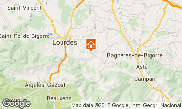 Mapa Lourdes Casa 93988