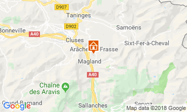 Mapa Les Carroz d'Araches Apartamento 80329