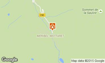 Mapa M�ribel Apartamento 28522
