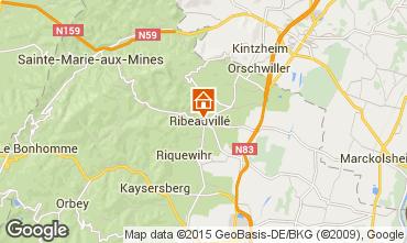 Mapa Ribeauvillé Apartamento 79825