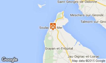 Mapa Soulac Villa 6726