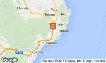 Mapa Calella de Palafrugell Villa 99245
