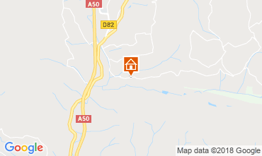 Mapa Le Castellet Apartamento 30584