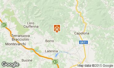Mapa Arezzo Casa rural 57056
