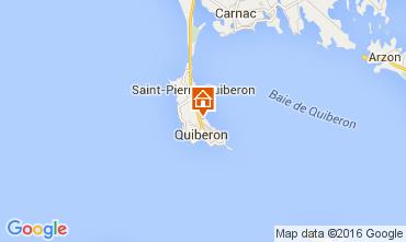 Mapa Quiberon Apartamento 28761