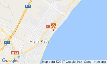 Mapa Miami Playa Apartamento 75548