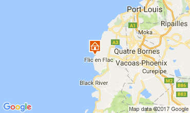 Mapa Flic-en-Flac Casa 111668