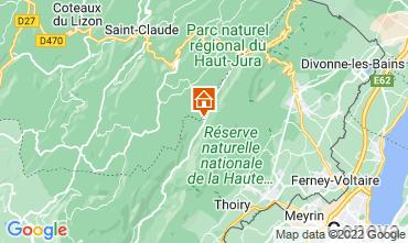 Mapa Les Rousses Apartamento 3730
