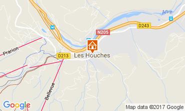 Mapa Chamonix Mont-Blanc Apartamento 68975