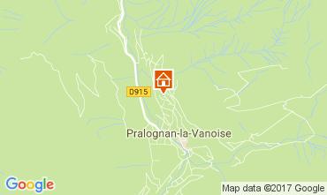 Mapa Pralognan la Vanoise Apartamento 52387