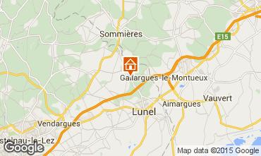 Mapa Montpellier Villa 9203