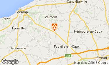 Mapa Etretat Casa rural 88218