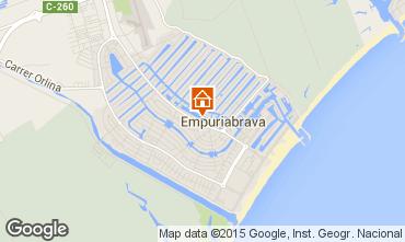 Mapa Ampuriabrava Apartamento 74320