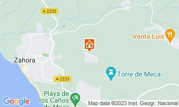 Mapa Los Caños de Meca Villa 107911