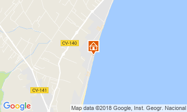 Mapa Peñíscola Apartamento 32523