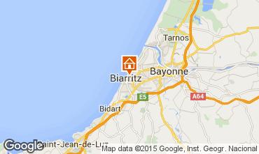 Mapa Biarritz Apartamento 92285