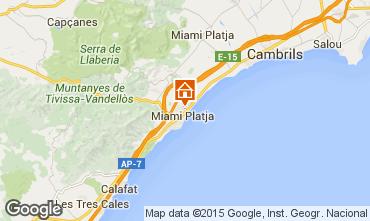 Mapa Miami Playa Chalet 98444