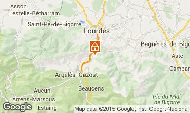 Mapa Argeles Gazost Casa rural 4041