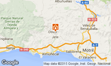 Mapa Almu�ecar Casa rural 65389