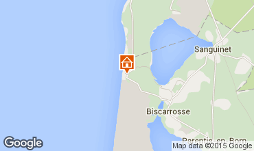 Mapa Biscarrosse Apartamento 80894