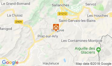Mapa Megève Chalet 117151