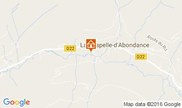 Mapa La Chapelle d'Abondance Estudio 107226