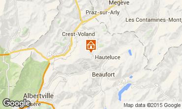 Mapa Les Saisies Apartamento 65900