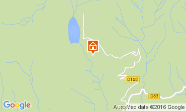 Mapa Aussois Chalet 26892