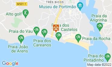 Mapa Praia da Rocha Apartamento 47824