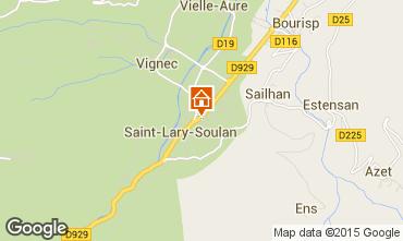 Mapa Saint Lary Soulan Apartamento 19638