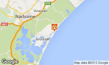 Mapa Gruissan-Plage Apartamento 49763