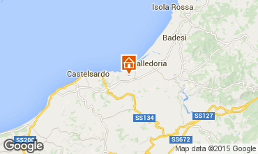 Mapa Valledoria Apartamento 95541