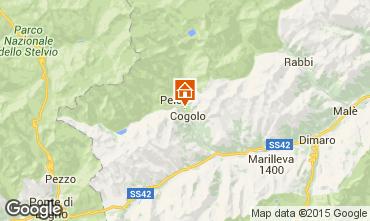 Mapa Peio (Pejo) Apartamento 74837