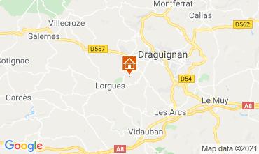 Mapa Draguignan Molino 86770