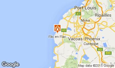 Mapa Flic-en-Flac Apartamento 92580