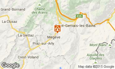 Mapa Megève Apartamento 55211