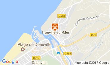 Mapa Trouville sur Mer Apartamento 112240