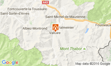 Mapa Valloire Apartamento 66336