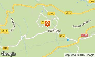 Mapa Bolqu�re Pyren�es 2000 Apartamento 90870