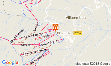 Mapa Le Corbier Estudio 1054