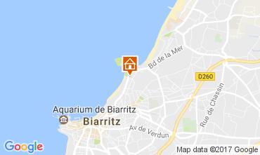Mapa Biarritz Apartamento 109147