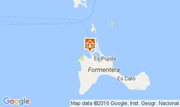 Mapa Formentera Apartamento 106437