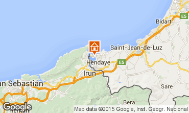 Mapa Hendaya Apartamento 81036
