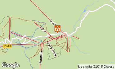 Mapa La Mongie Apartamento 29930