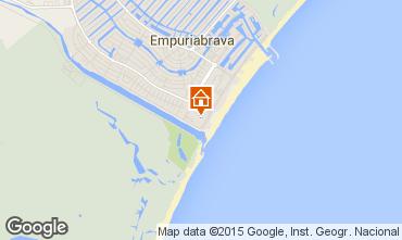 Mapa Ampuriabrava Apartamento 60216