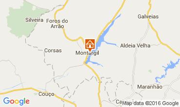 Mapa Ponte de Sor Casa rural 103665