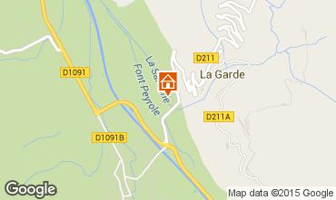 Mapa Alpe d'Huez Estudio 58962