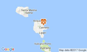 Mapa Lipari Villa 32486